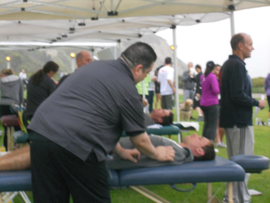 TMZ: Half-Marathon Massage